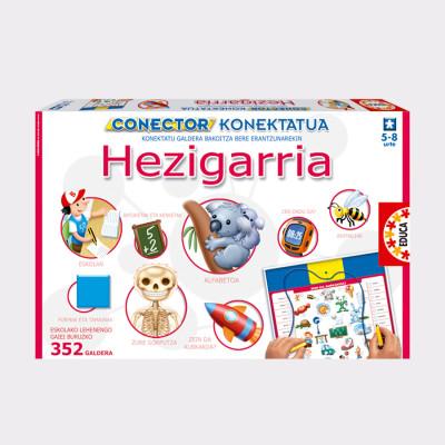 """Conecta cada pregunta con su respuesta!  """"Conector/Konektatu Hezigarria"""" es un juego de preguntas y respuestas de conceptos educativos de primaria, compuesto por 352 láminas.  Conecta correctamente entre si las preguntas y las respuestas. En cada lámina las respuestas tienen un orden diferente para que así el niño utilice el conocimiento y en vez de hábito.  Mediante """"konektatu"""" aprenderá diferentes temas que han sido desarrollados por pedagogos y educadores, diseñados especialmente para niños de 5 a 8 años."""