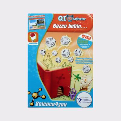 Qi Activator es una colección de juguetes desarrollada con la intención de estimular la capacidad cognitiva de los niños.  Pon a prueba tu imaginación y crea tus propias historias!  Juego educativo que desarrolla tus capacidades: vocabulario, razonamiento, relaciones sociales, imaginación…