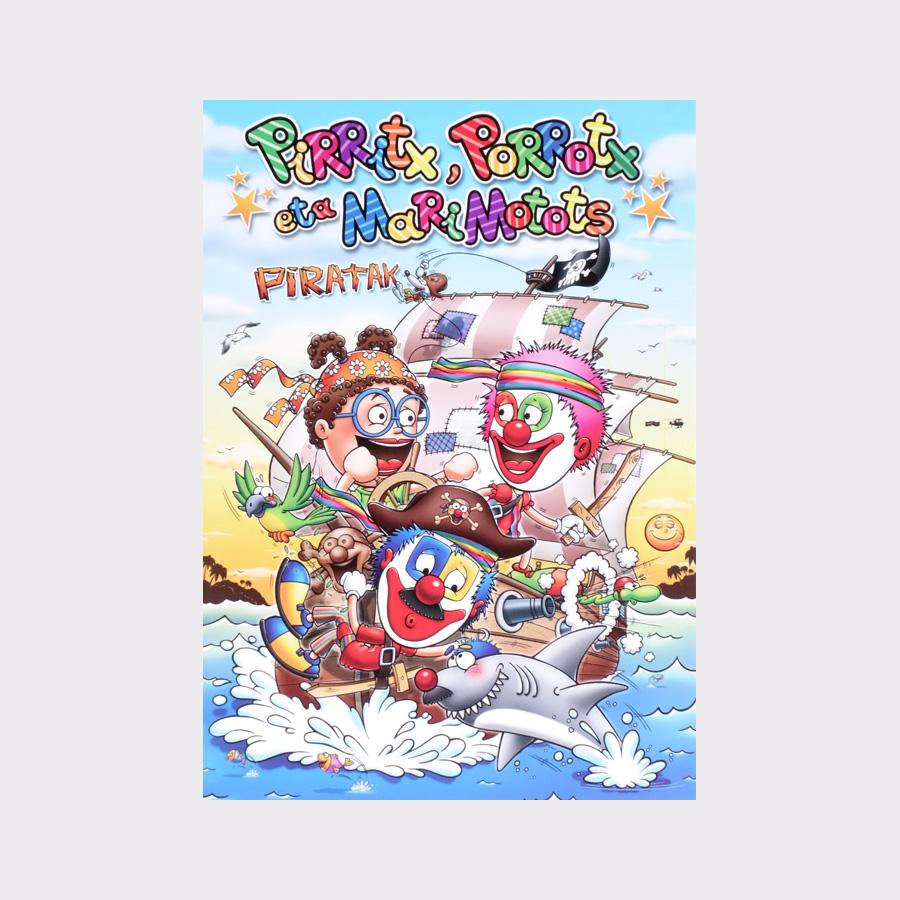 dvds de pirritx eta porrotx